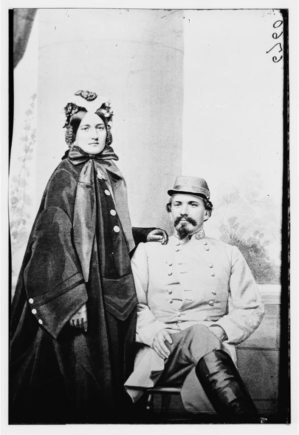 Confederate Husband and Wife