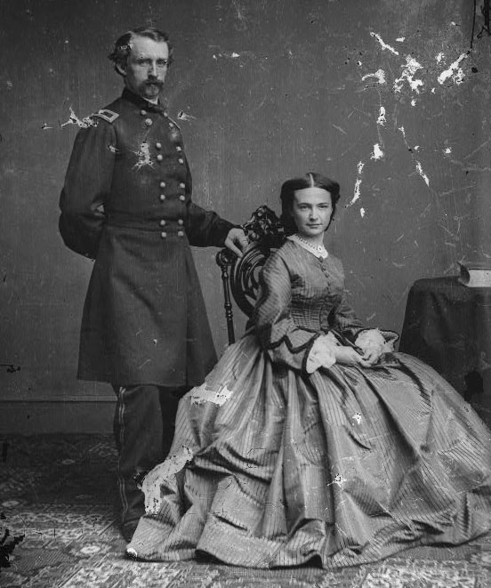 Custer and His Wife Elizabeth