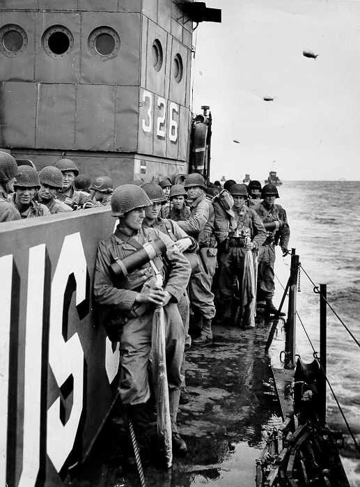 On the Way to Normandy