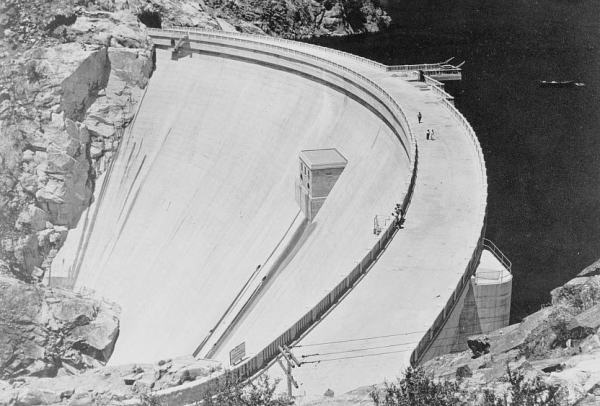 The Dam at Hetch Hetchy