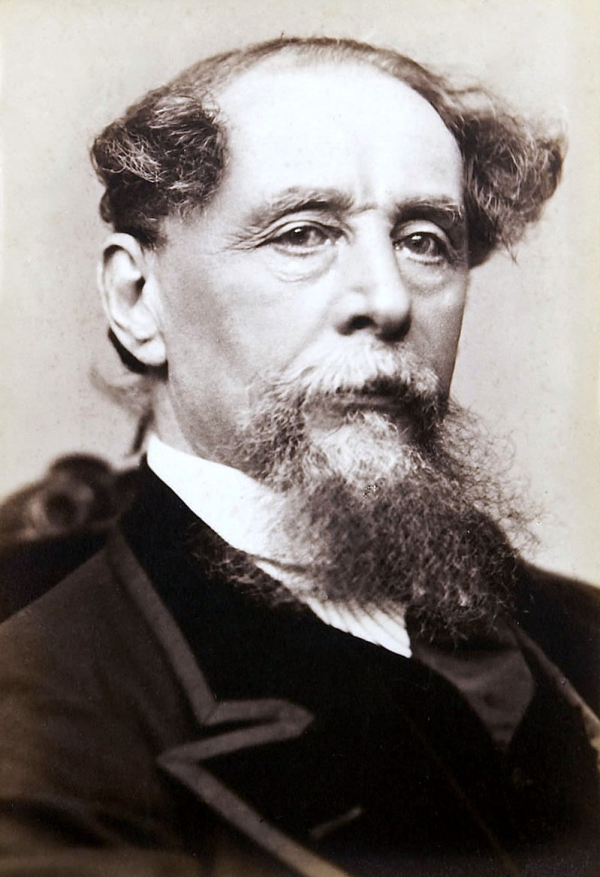 Charles Dickens, by Gurney