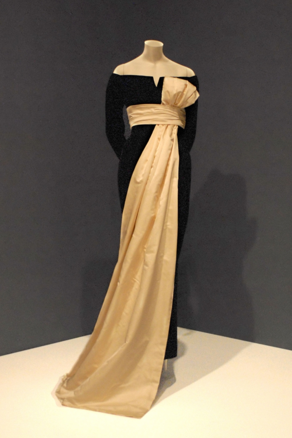 History Of American Fashion Photo Dior Evening Dress