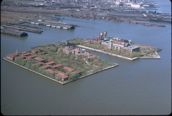 Ellis Island From Above