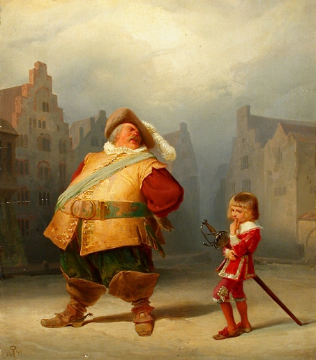 Falstaff, by Schrödter