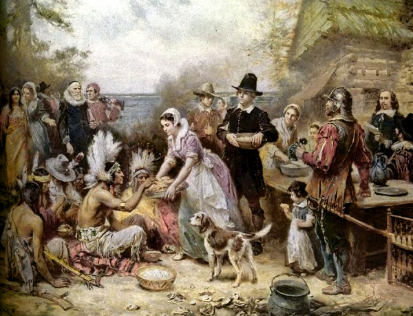 First Thanksgiving, by Ferris