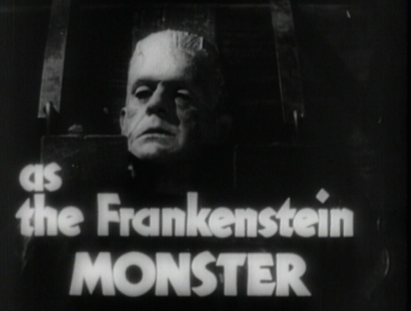 Frankenstein in Hollywood