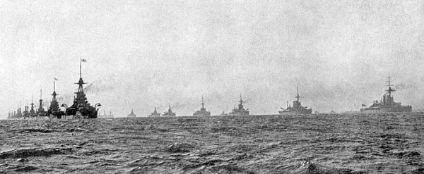 The British Grand Fleet