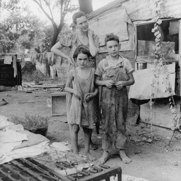 A Great Depression Family