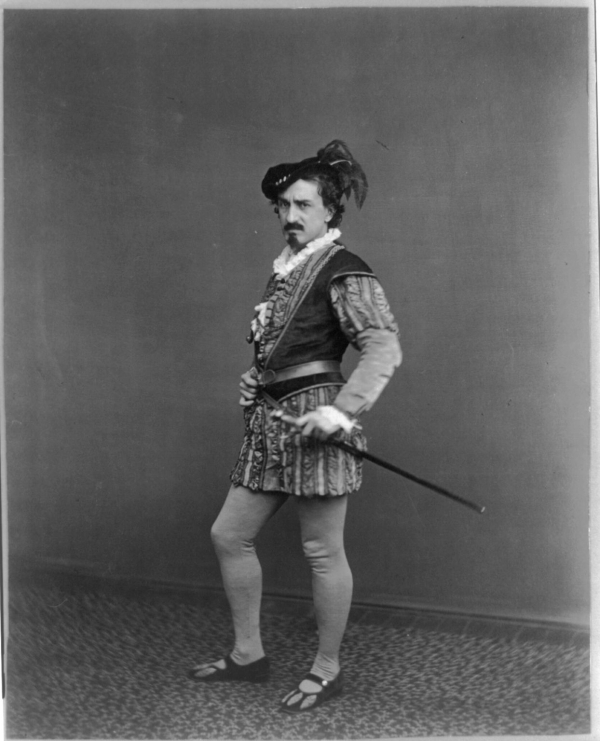Edwin Booth as Iago
