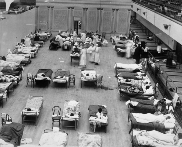The Influenza Pandemic, 1918