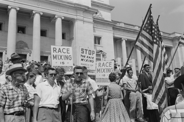 Racial Integration Protest