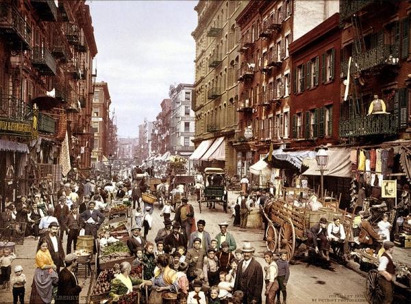 Italian Neighborhood, NYC