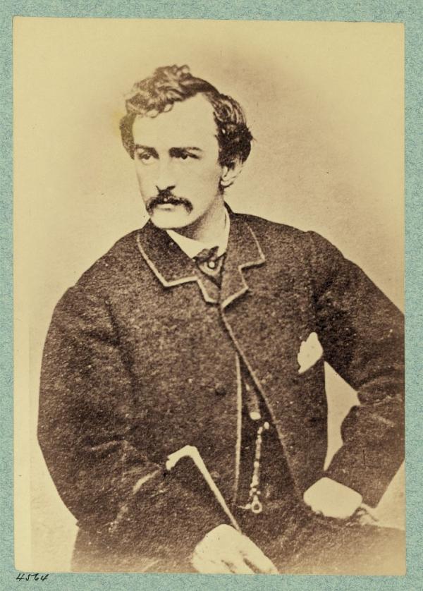 The Civil War Photo John Wilkes Booth