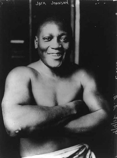 Jack Johnson, Boxer