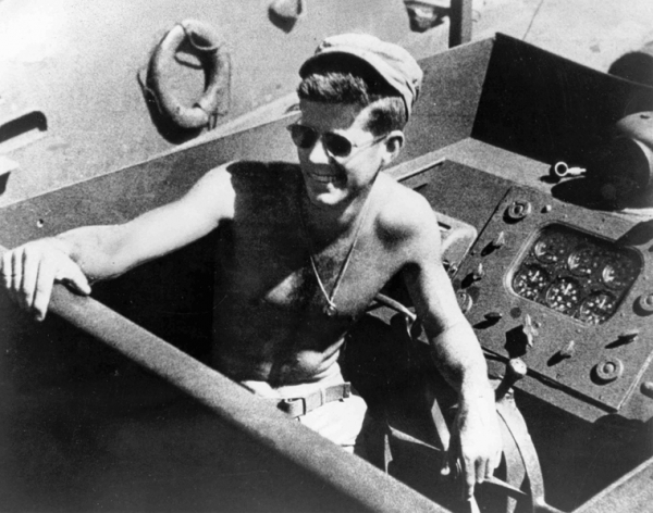 John F. Kennedy, WWII