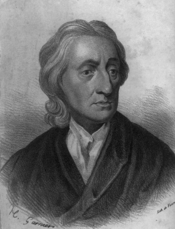 John Locke, author of An Essay Concerning Human Understanding and Two ...