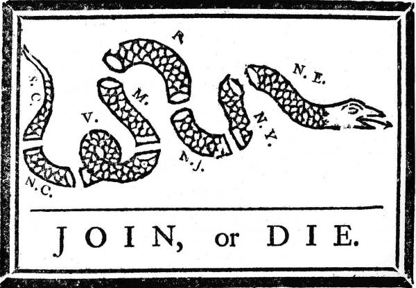 """""""Join or Die"""""""