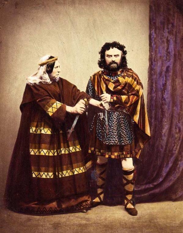 Charles Kean as Macbeth