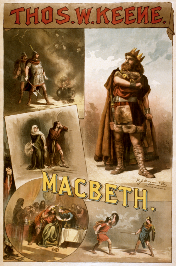 Poster for Keene's Macbeth