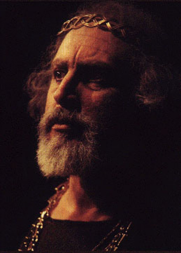 Michael D. Jacobs as King Lear