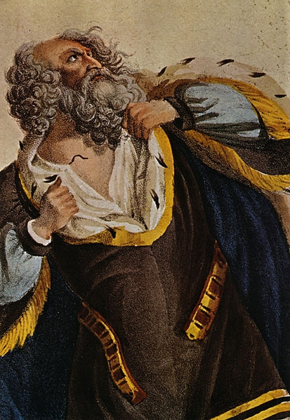 Ludwig Devrient as King Lear