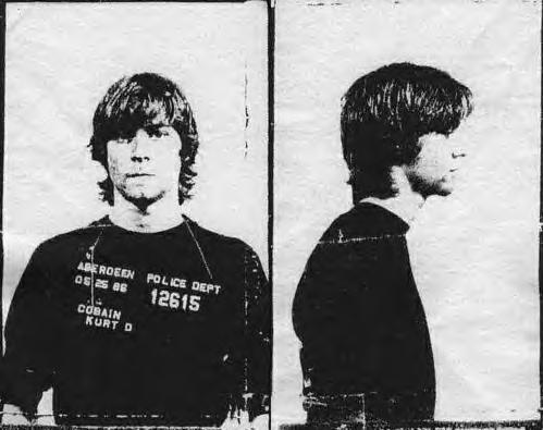 Kurt Cobain, Mugshot