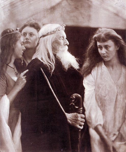 Lear and His Daughters