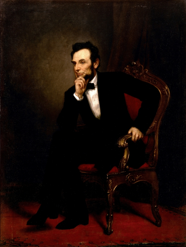 Abraham Lincoln, by Healy