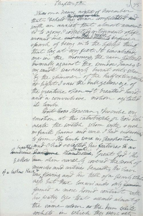 Shelley's Manuscript