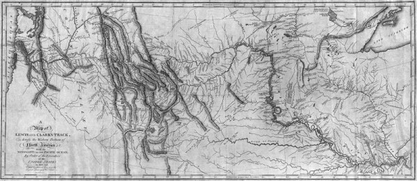 Map of the Expedition