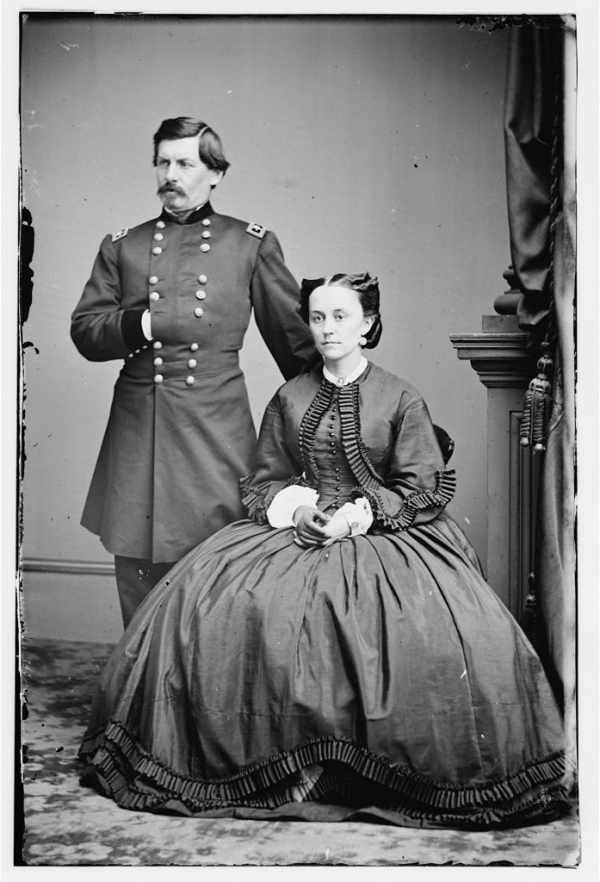 McClellan and His Wife
