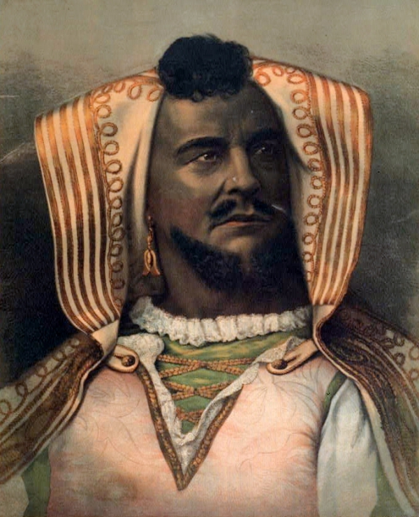 McCullough as Othello
