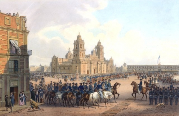 Occupation of Mexico City