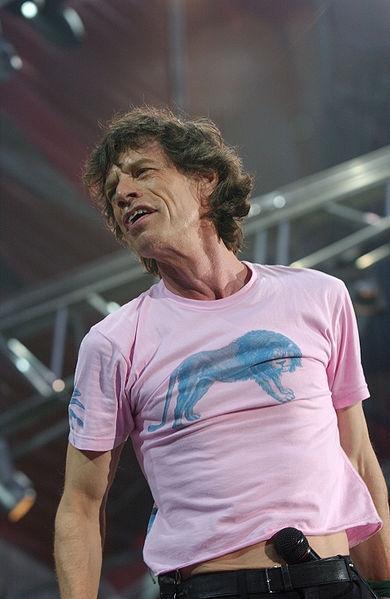 Mick Jagger, 2008