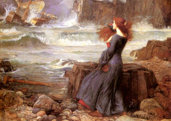 Miranda, by Waterhouse