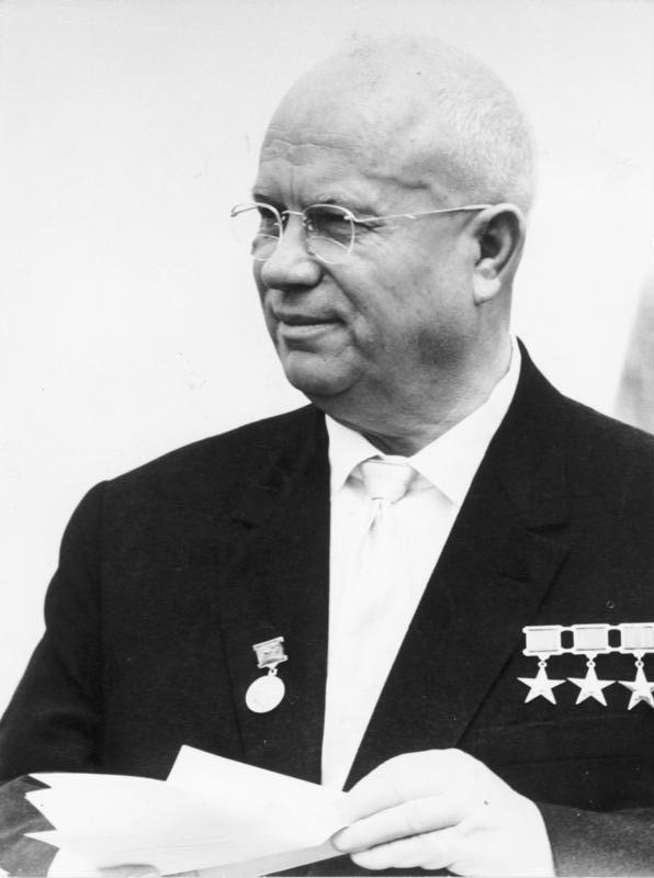 explain why khrushchev ordered the building