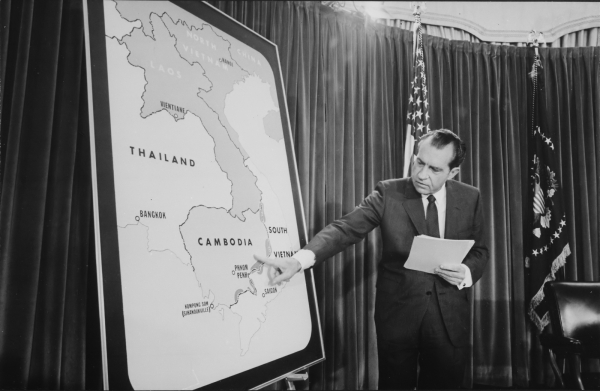 Nixon Speaks About Expansion