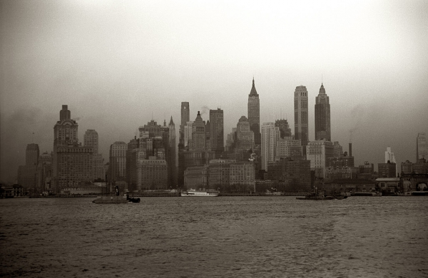 New York City Skyline, 1941