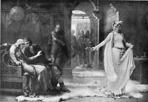 Ophelia Shakespeare: Ophelia, By Rae