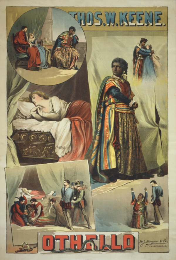 Poster for Keene's Othello