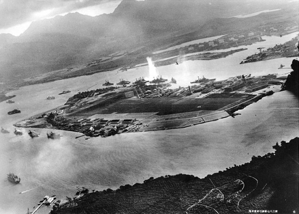 Pearl Harbor, Aerial View