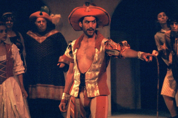 Petruchio in a Production