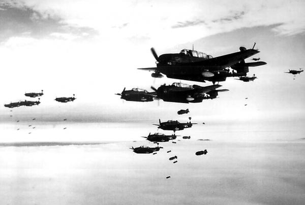 World War II Photo: U.S. Planes