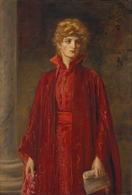 Portia, by Millais