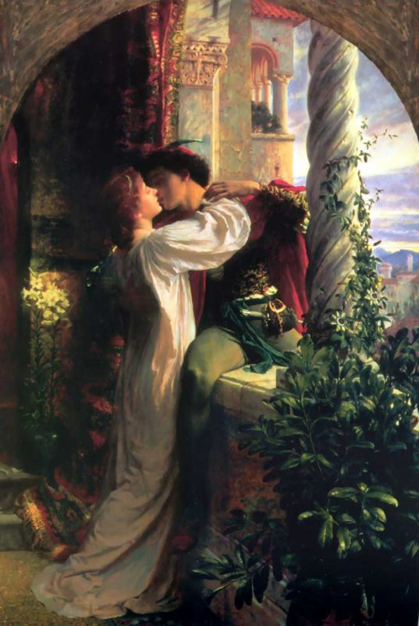 Romeo and Juliet, by Dicksee