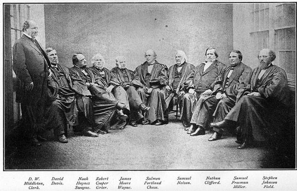 Judicial Branch & Supreme Court Photo: Salmon P. Chase Supreme Court
