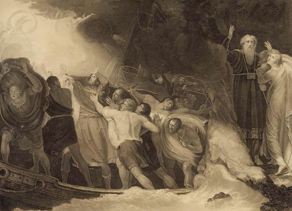 A Scene, by Romney