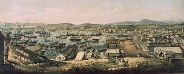 San Francisco, 1850