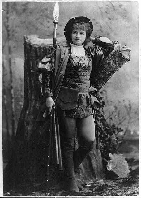 Helena Modjeska as Rosalind