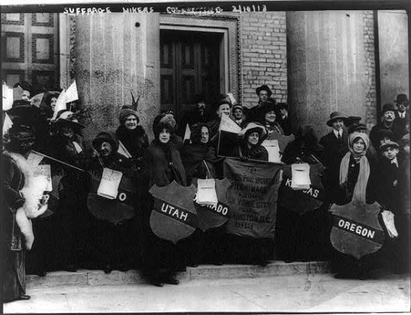 Suffrage Hikers